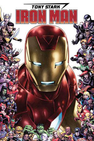 Tony Stark: Iron Man (2018) #15 (Variant)