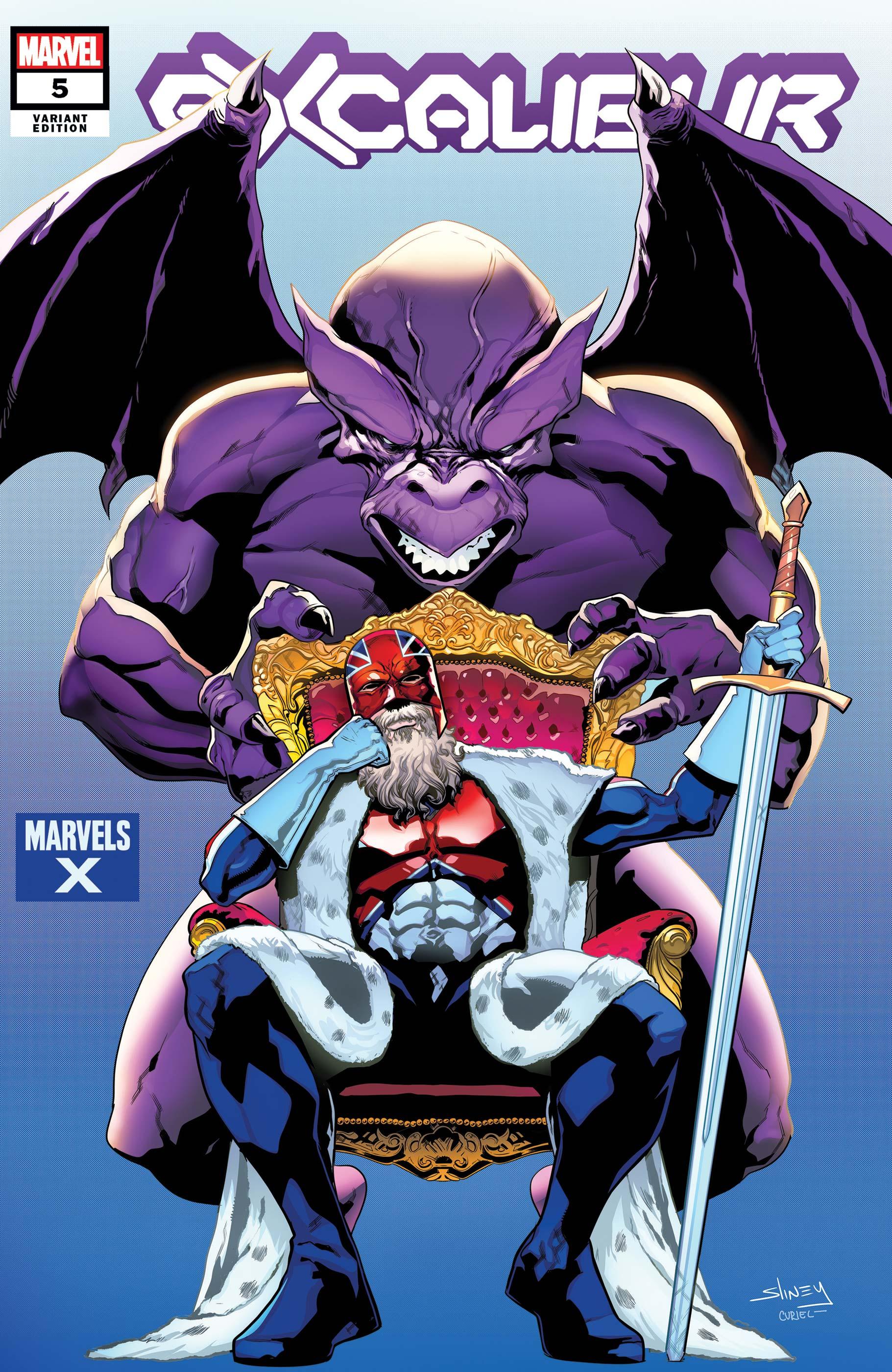Excalibur (2019) #5 (Variant)