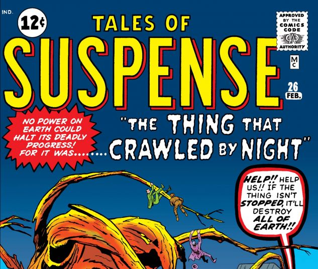 TALES OF SUSPENSE (1959) #26