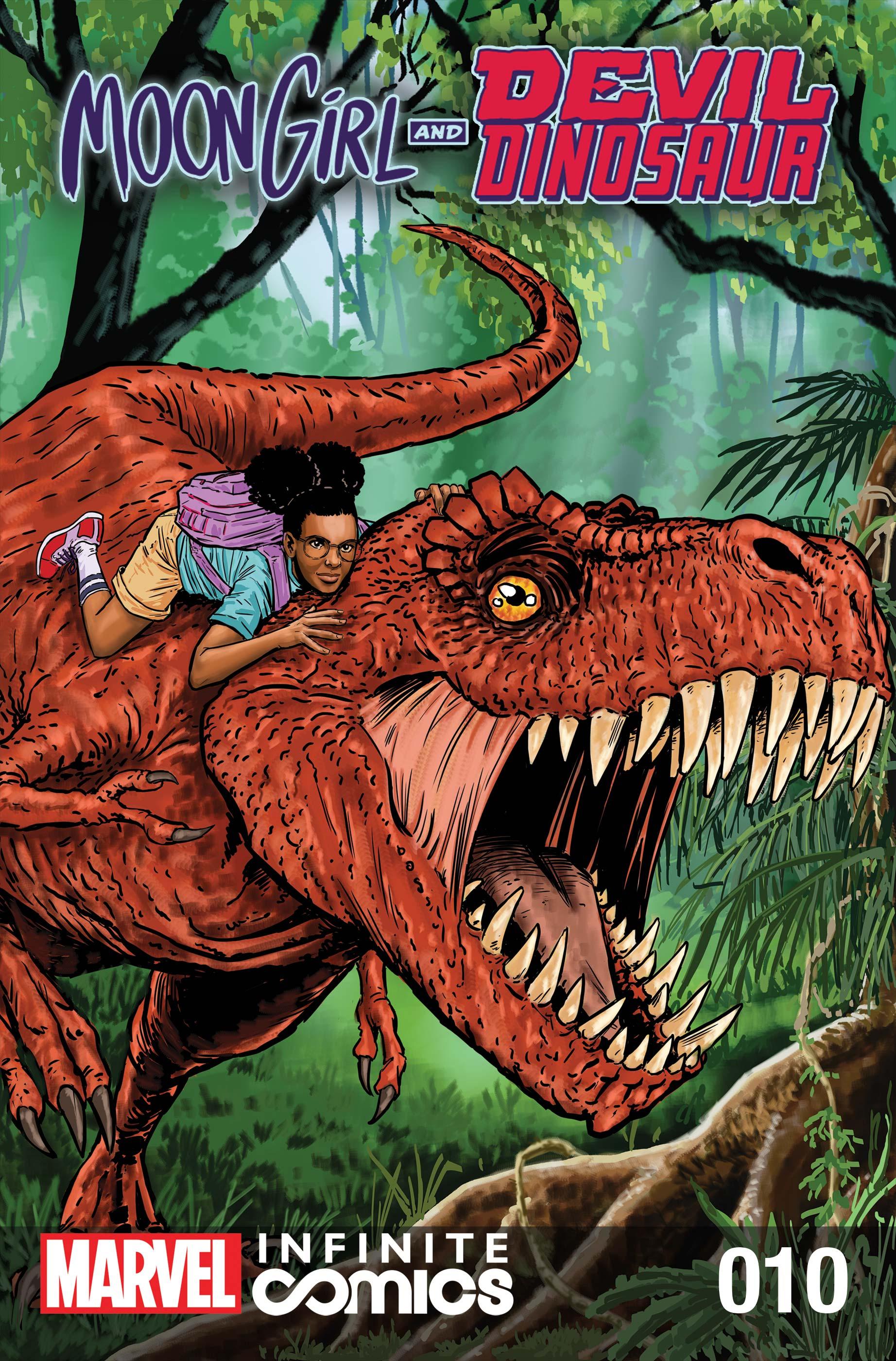 Moon Girl and Devil Dinosaur Infinite Comic (2019) #10