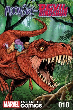 Moon Girl and Devil Dinosaur Infinite Comic #10
