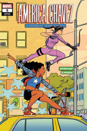 America Chavez: Made in the Usa (2021) #5 (Variant)