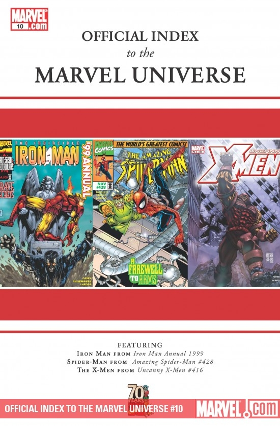 Official Index to the Marvel Universe (2009) #10