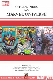 Official Index to the Marvel Universe #10