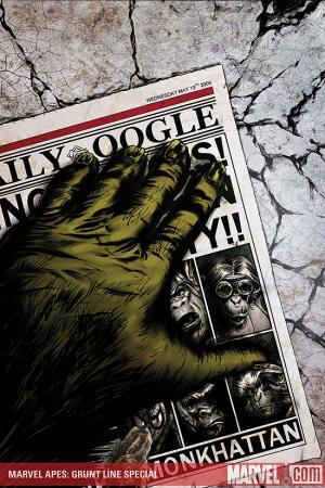 Marvel Apes: Grunt Line Special (2009)