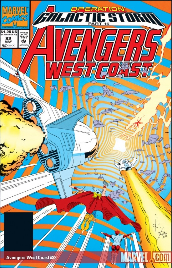 Avengers West Coast (1985) #82