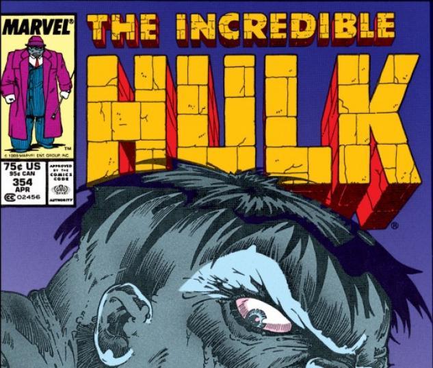 INCREDIBLE HULK #354 COVER