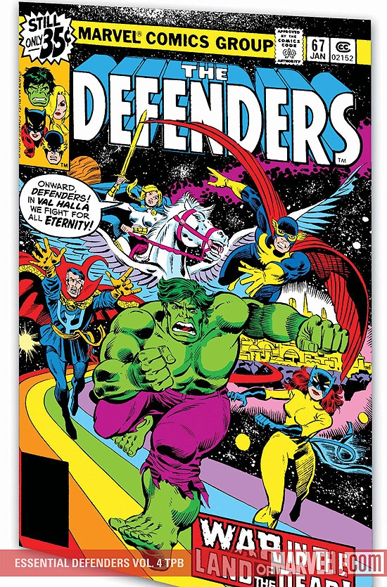 Essential Defenders Vol. 4 (Trade Paperback)