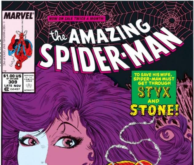 AMAZING SPIDER-MAN #309 COVER