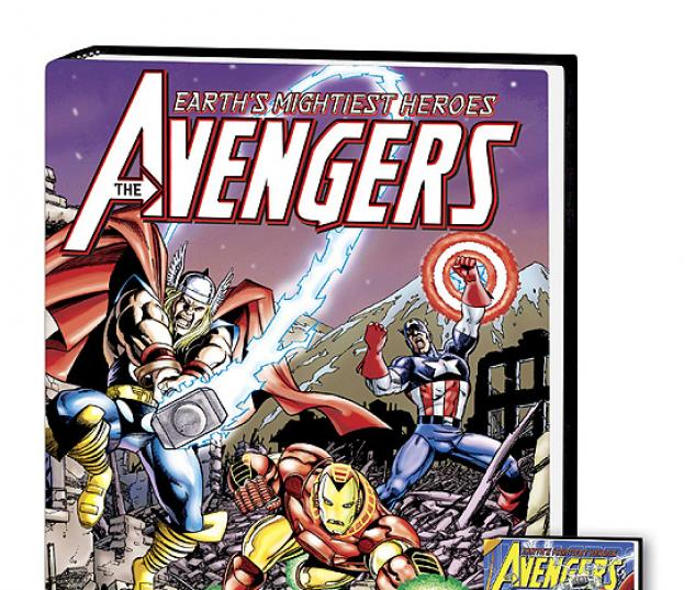 AVENGERS ASSEMBLE VOL. 2 COVER