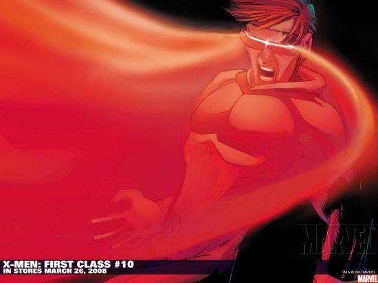 X-Men: First Class (2007) #10 Wallpaper