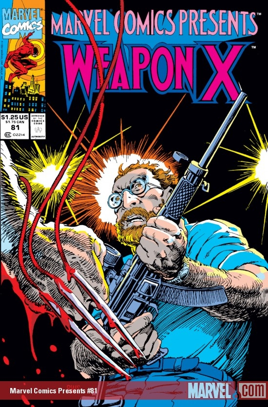 Marvel Comics Presents (1988) #81