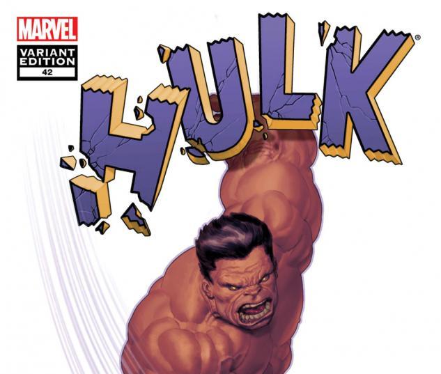 Hulk (2008) #42, Mc 50th Anniversary Variant cover