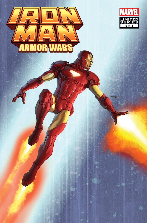 Iron Man & the Armor Wars (2009) #3