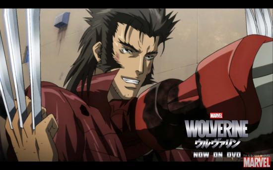 Wolverine Anime Series Wallpaper #4