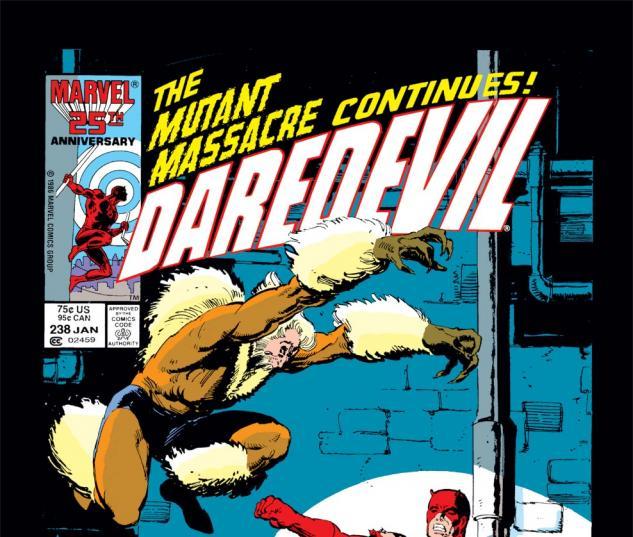 Daredevil (1963) #238 Cover