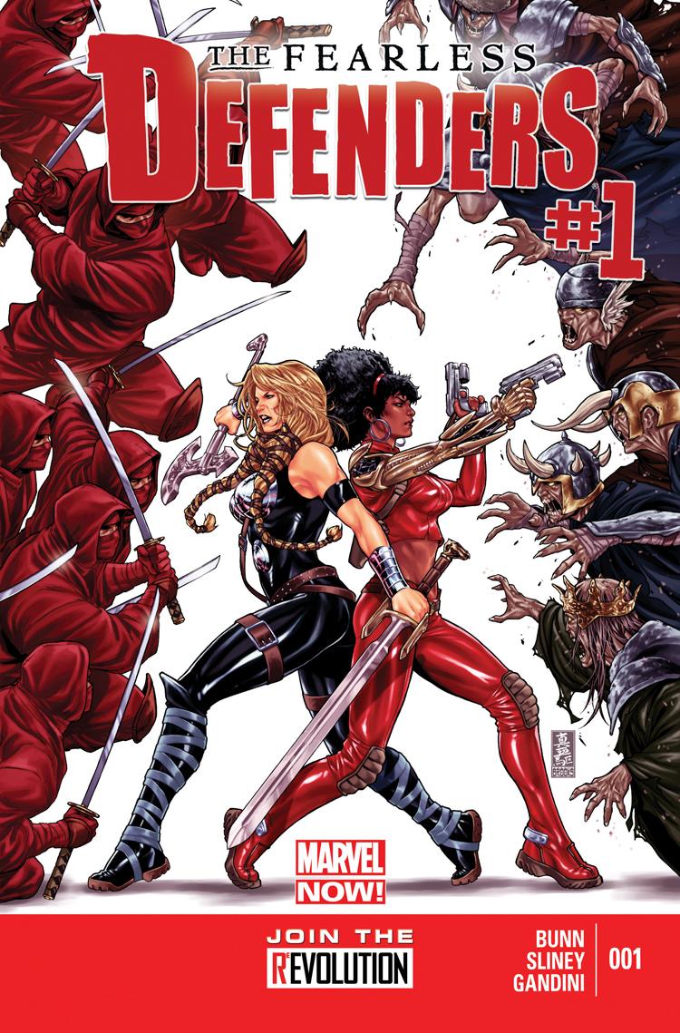 Fearless Defenders (2013) #1