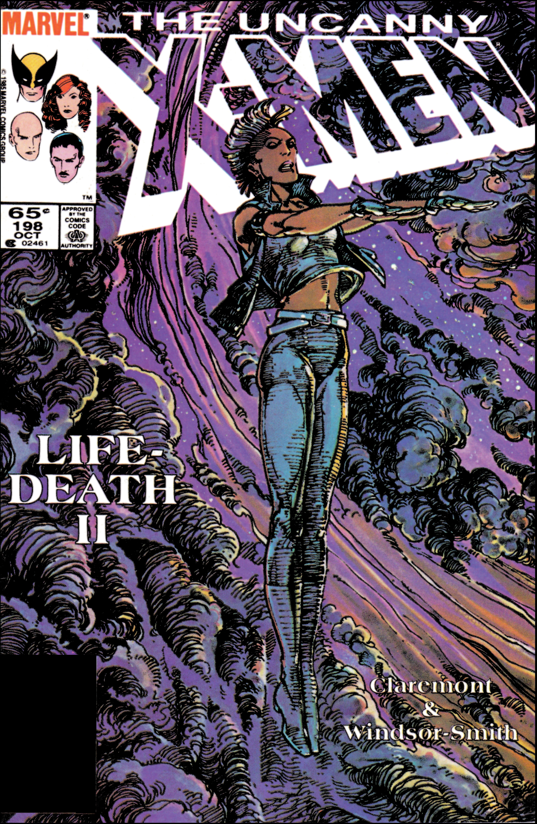 Uncanny X-Men (1963) #198
