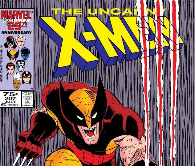 Uncanny X-Men (1963) #207 Cover