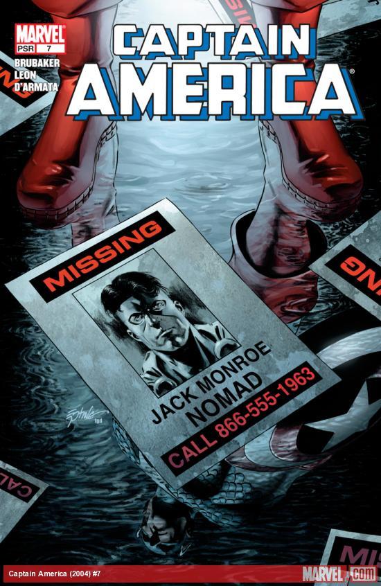 Captain America (2004) #7