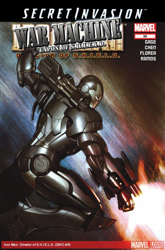 Iron Man: Director of S.H.I.E.L.D. (2007) #35