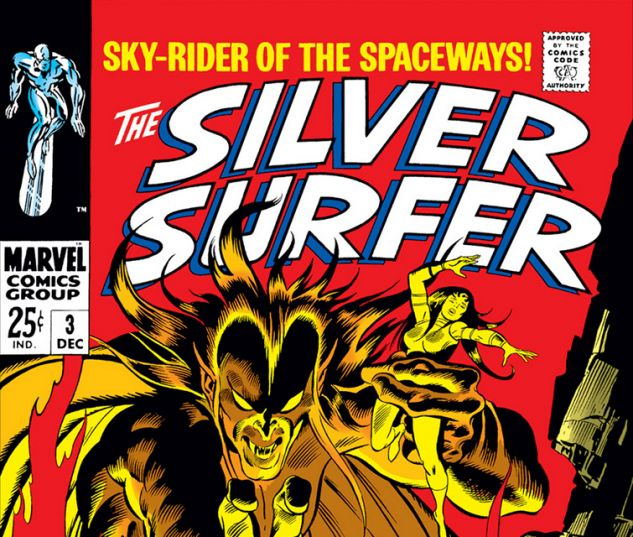 Silver Surfer (1968) #3