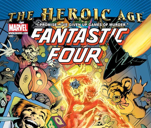 Fantastic Four (1998) #580