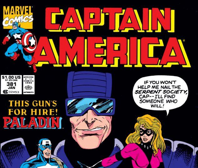 Captain America (1968) #381 Cover