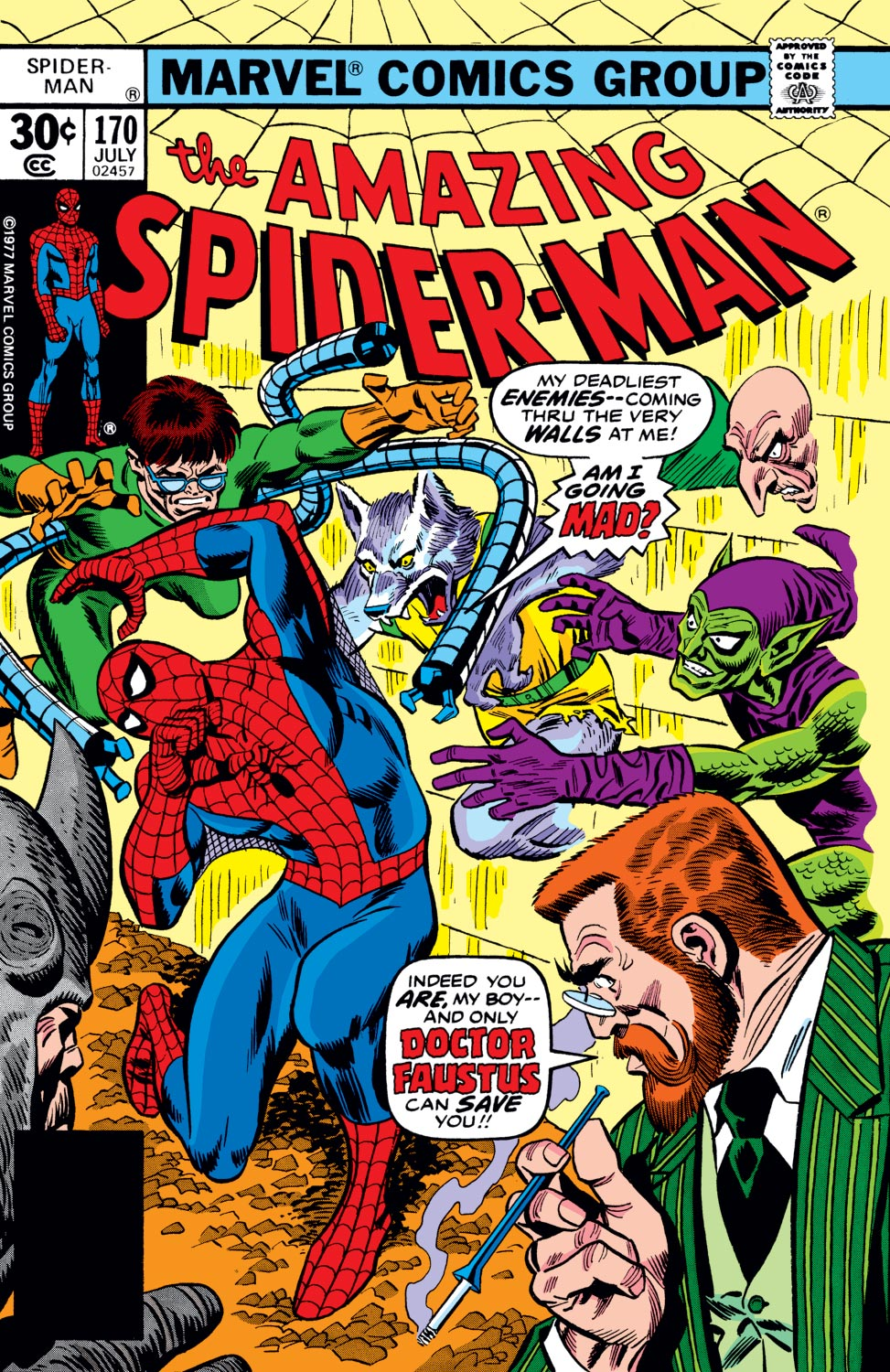 The Amazing Spider-Man (1963) #170