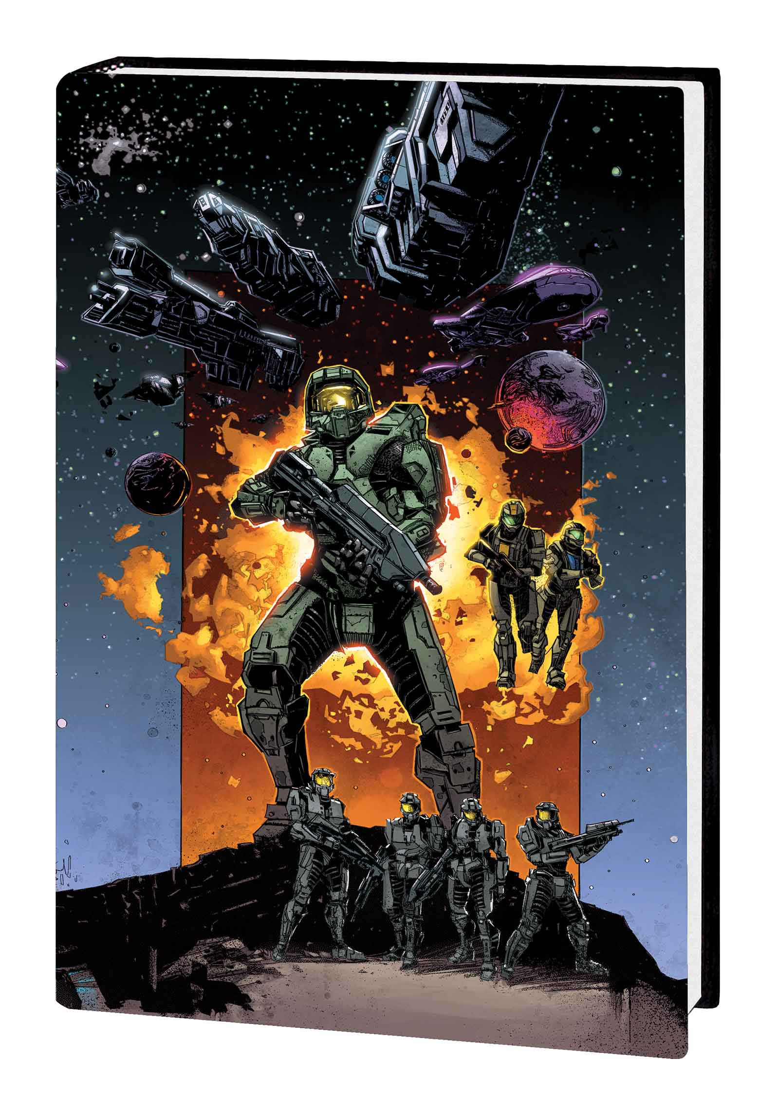 HALO: OVERSIZED COLLECTION HC (Hardcover)