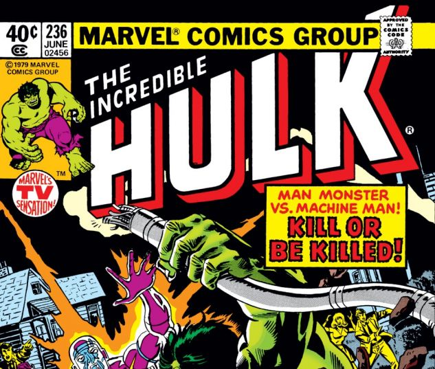 Incredible Hulk (1962) #236 Cover