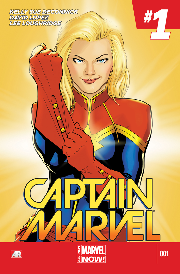 Captain Marvel (2014) #1