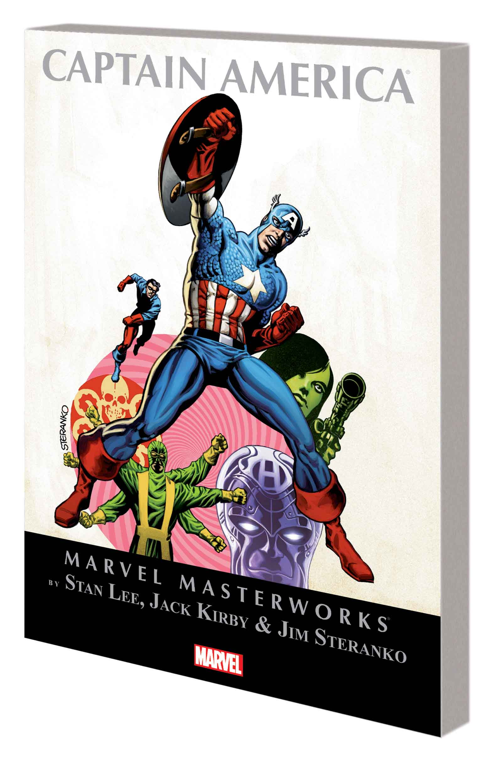 Marvel Masterworks: Captain America (Trade Paperback)