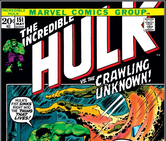 Incredible Hulk (1962) #151 Cover