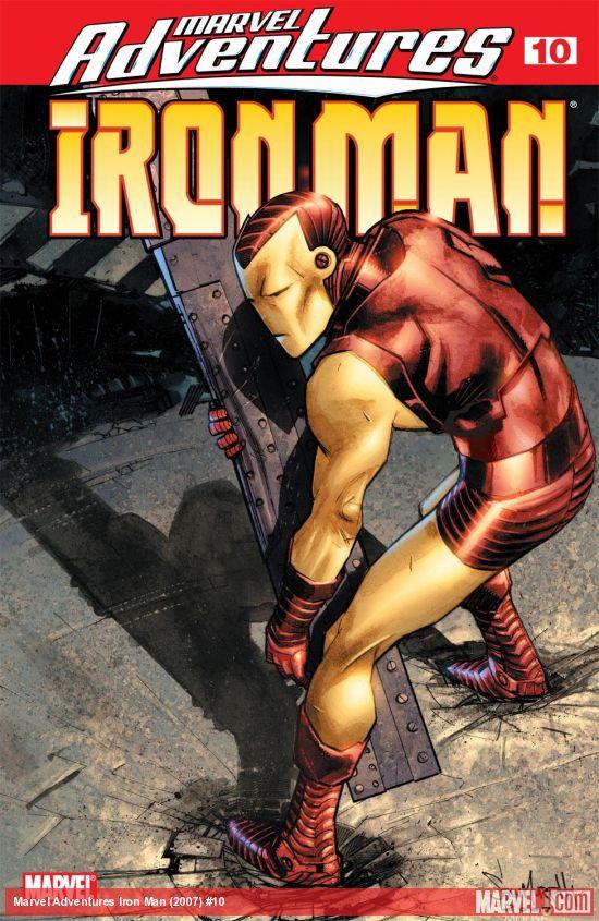 Marvel Adventures Iron Man (2007) #10