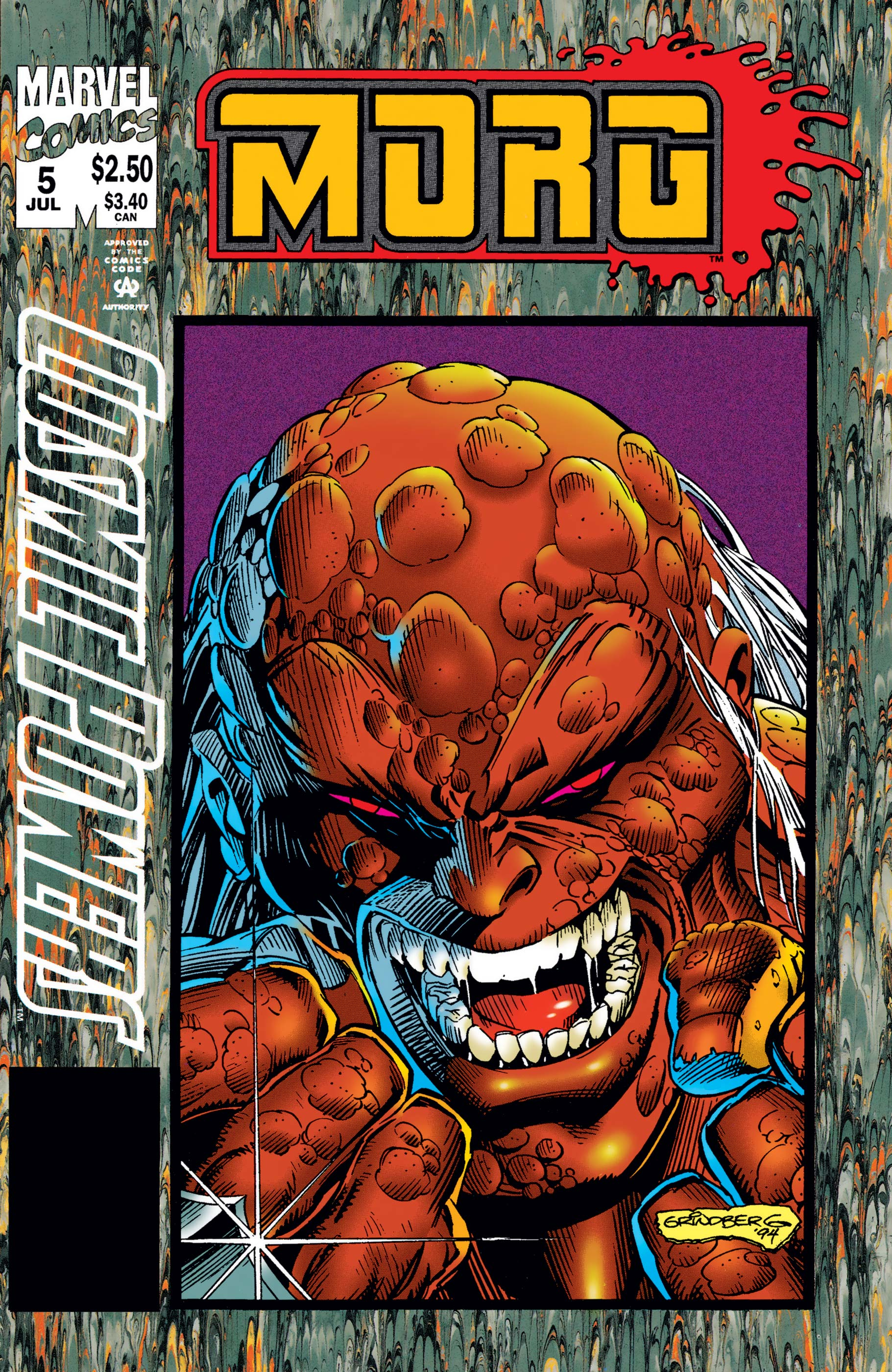 Cosmic Powers (1994) #5