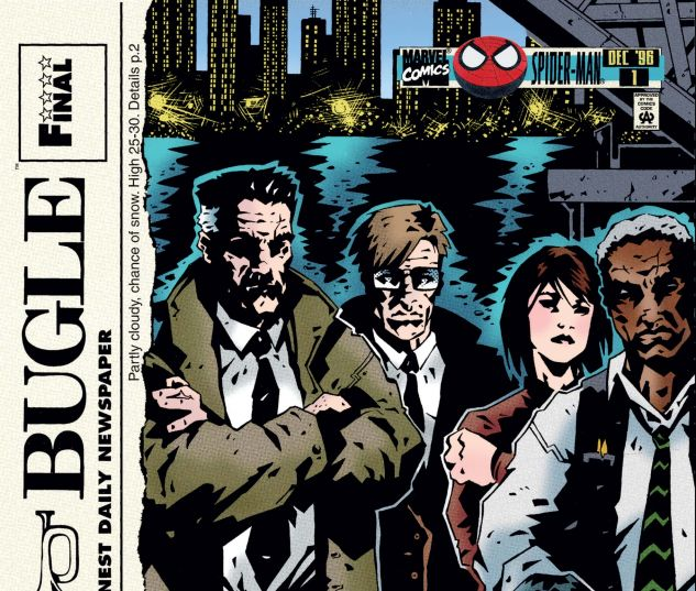 cover from Daily Bugle (1996) #1
