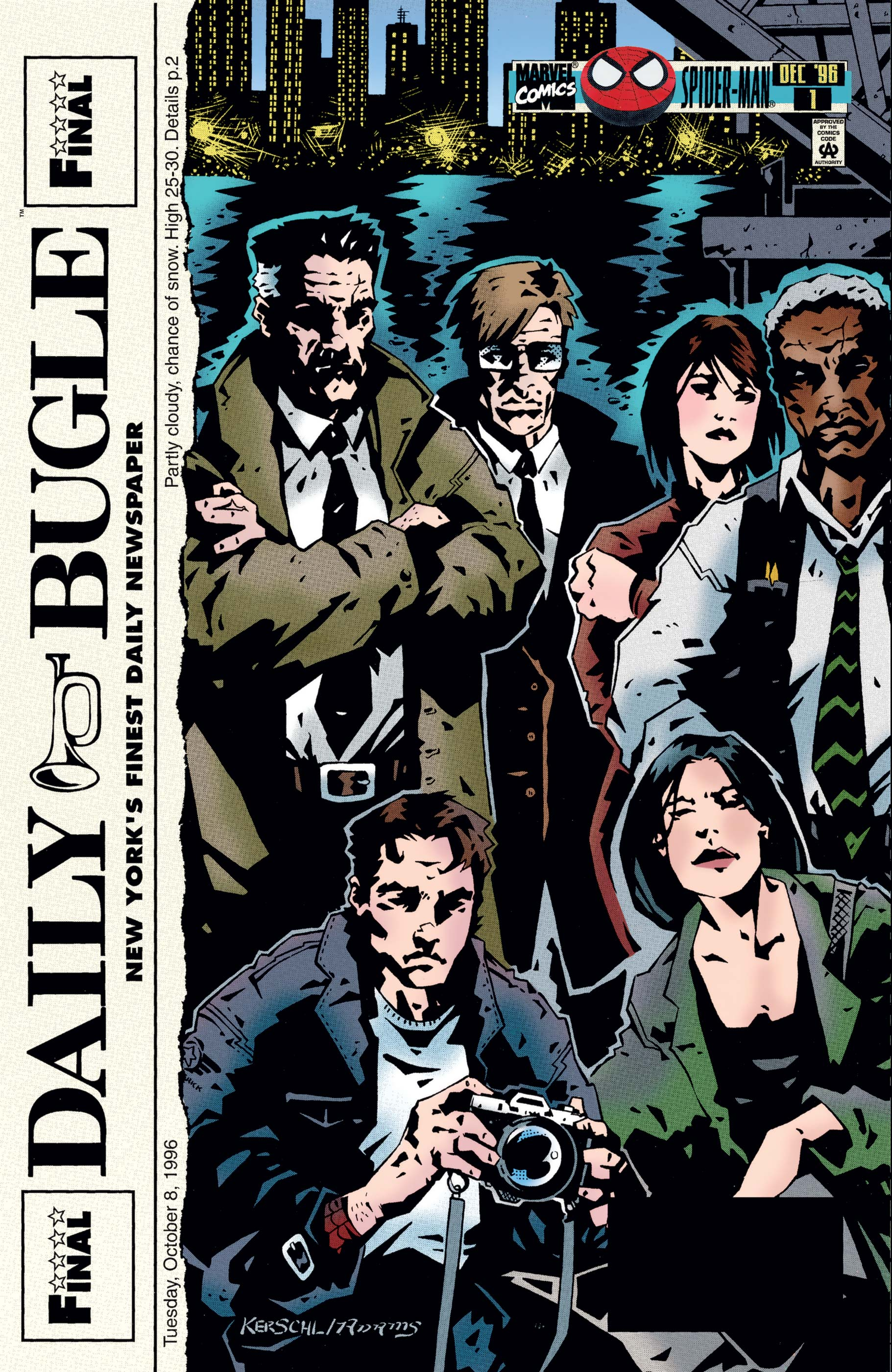 Daily Bugle (1996) #1