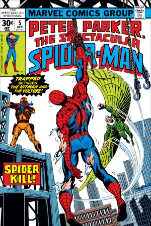 Peter Parker, the Spectacular Spider-Man (1976) #5