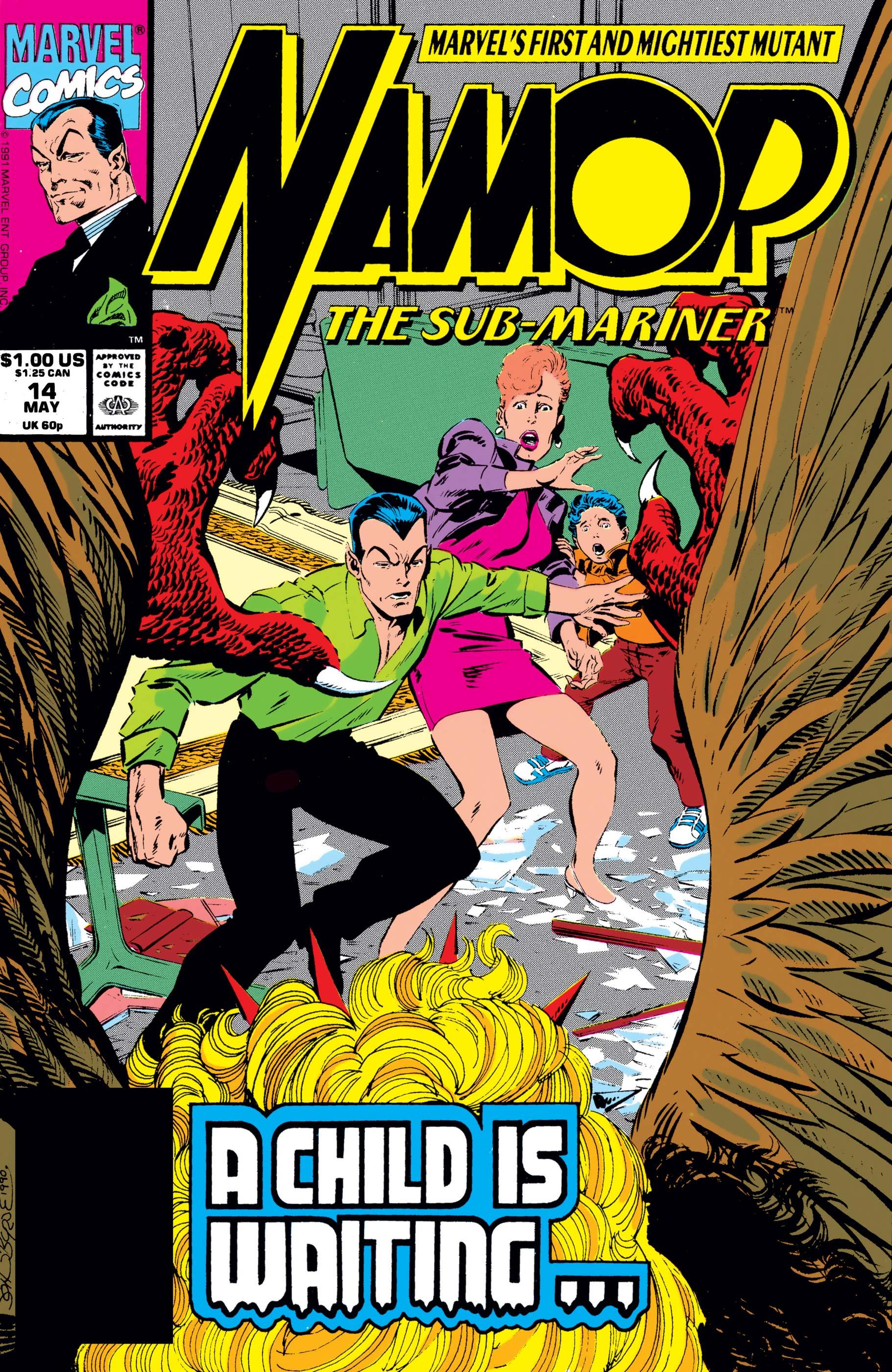 Namor: The Sub-Mariner (1990) #14