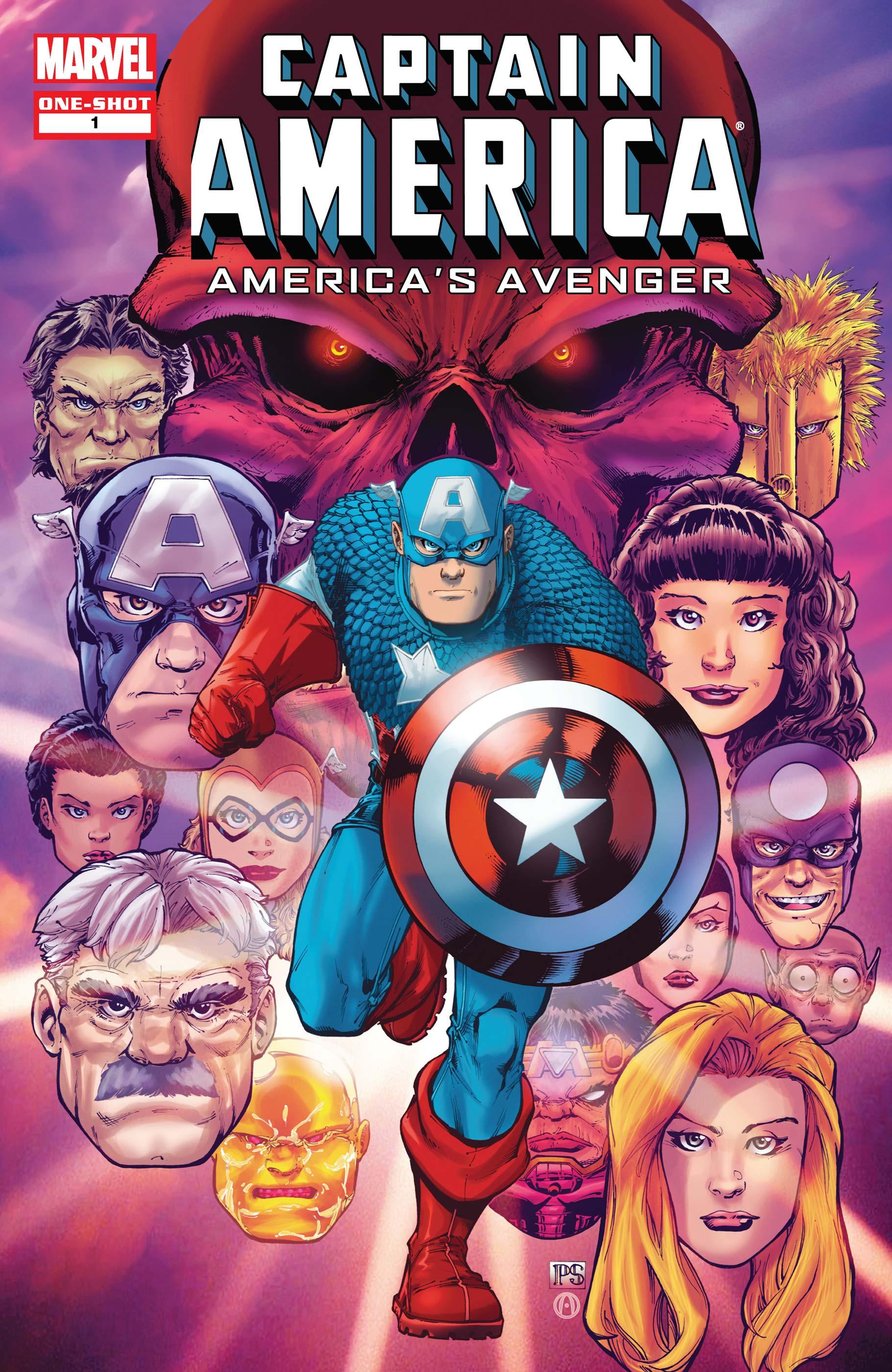 Captain America: America's Avenger (2010) #1