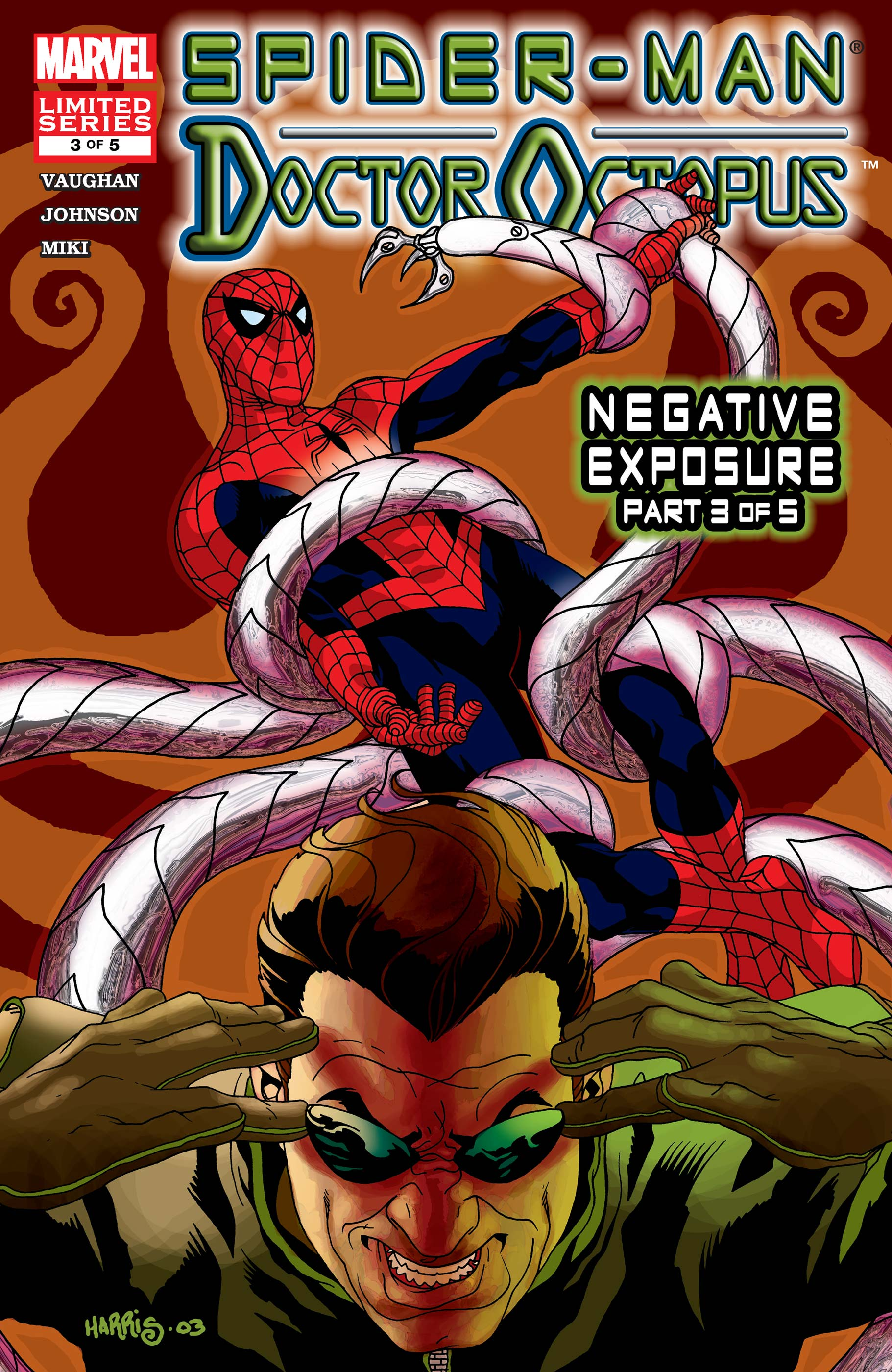 Spider-Man/Doctor Octopus: Negative Exposure (2003) #3