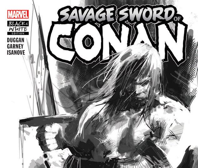 SAVAGE SWORD OF CONAN: THE CULT OF KOGA THUN BLACK AND WHITE TPB #1
