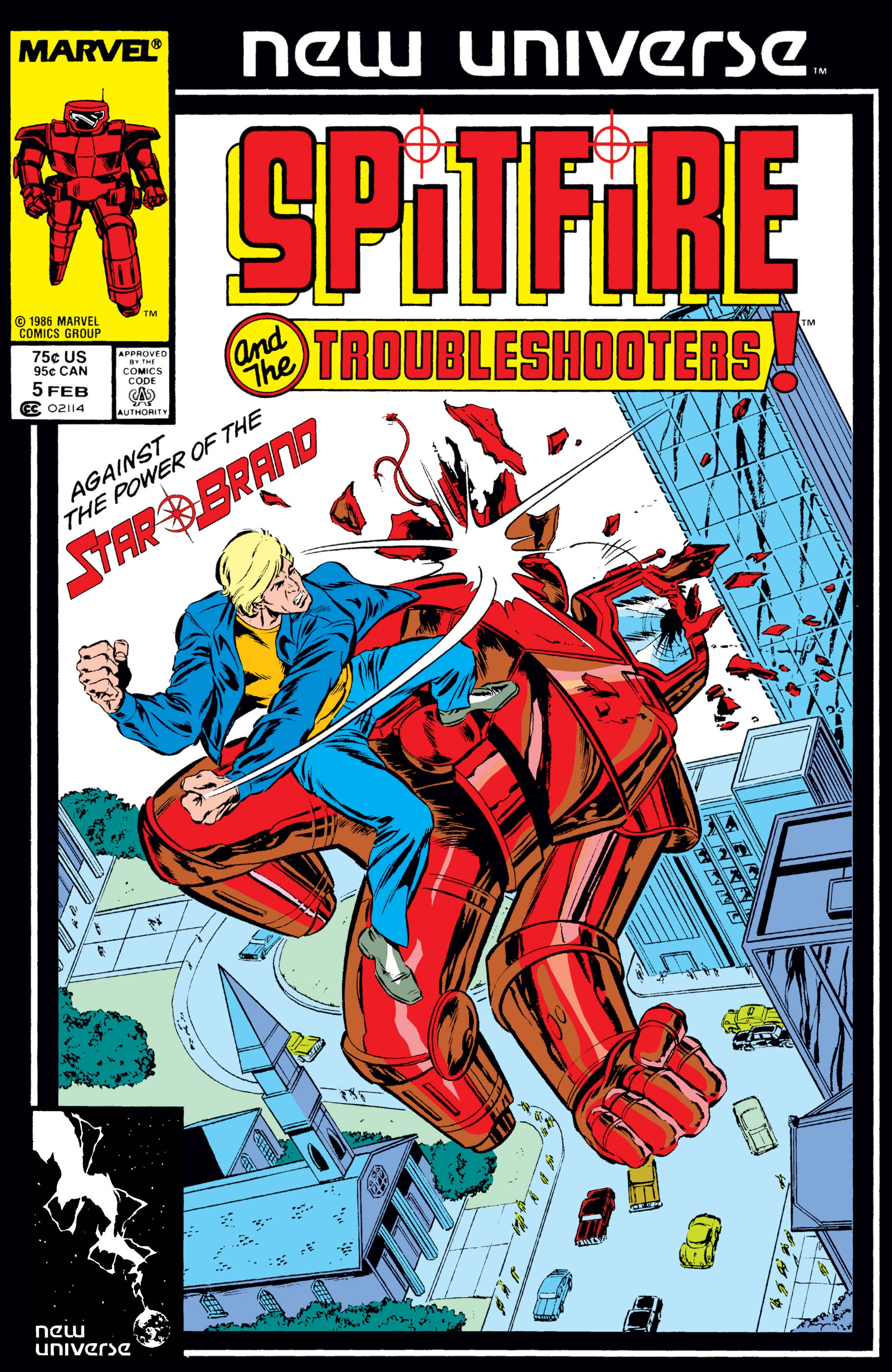Spitfire and the Troubleshooters (1986) #5