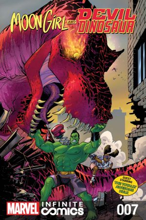 Moon Girl and Devil Dinosaur Infinite Comic (2019) #7