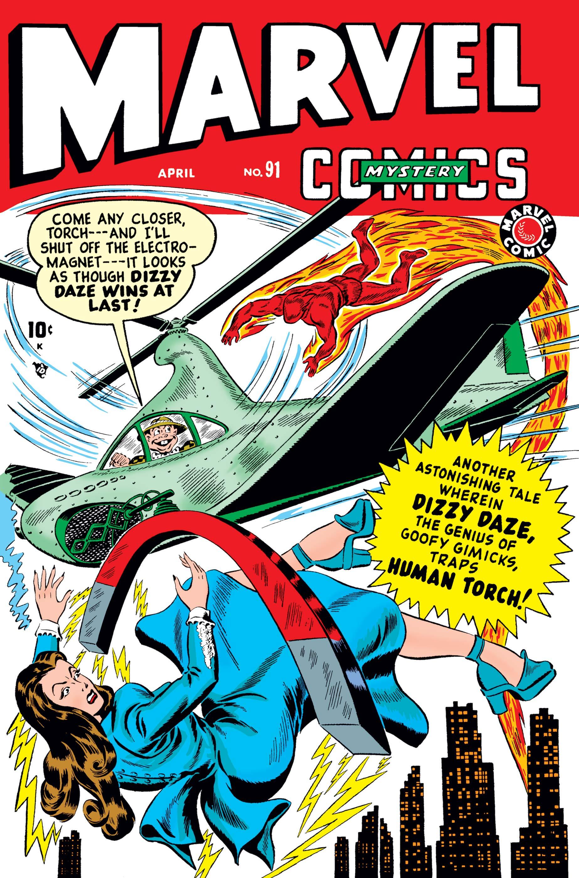 Marvel Mystery Comics (1939) #91