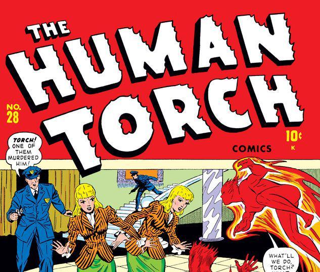 Human Torch #28