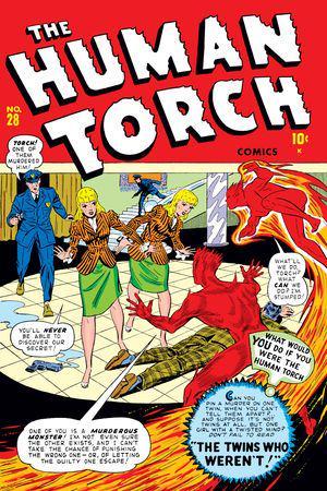 Human Torch Comics (1940) #28