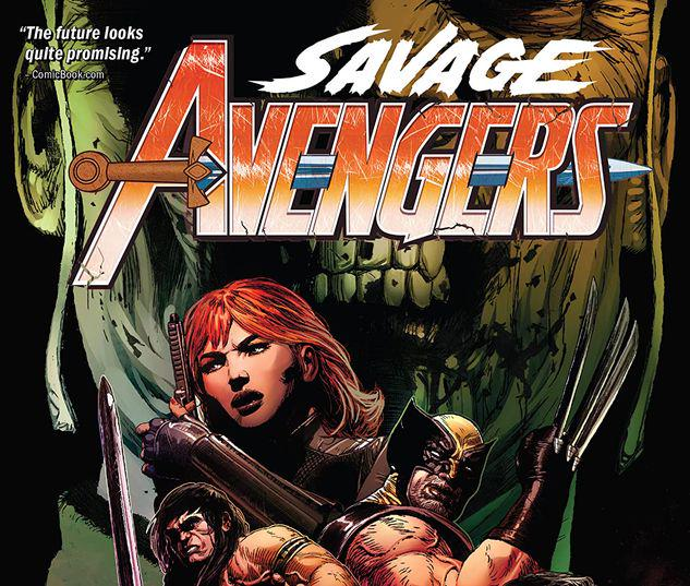 SAVAGE AVENGERS VOL. 3: ENTER THE DRAGON TPB #3