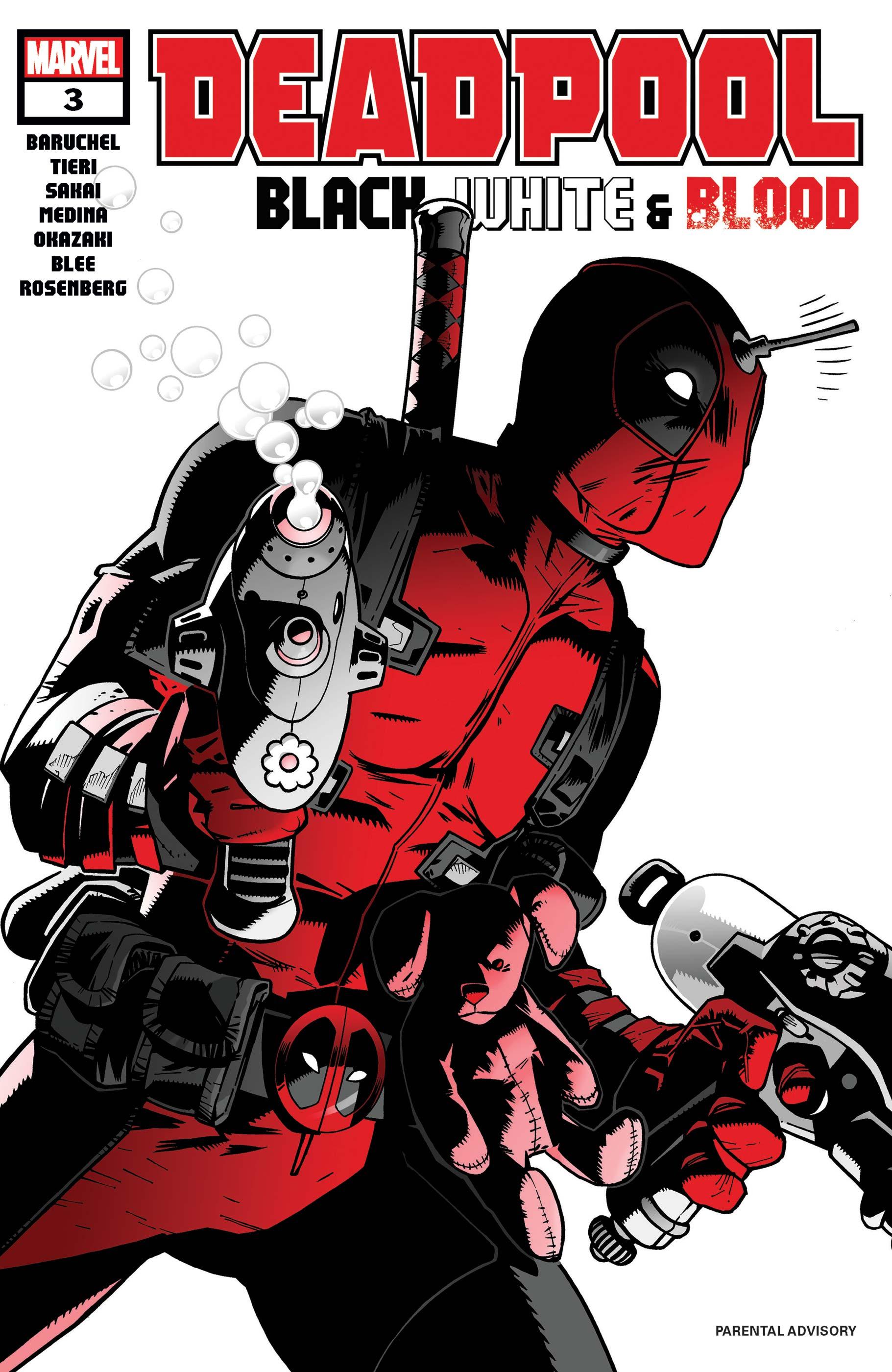 Deadpool: Black, White & Blood (2021) #3